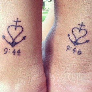 Twin Sister Quotes For Tattoos Like. my sister and i got
