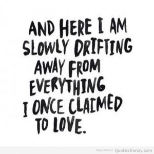Qoutes sayings love heartbreak BlackandWhite Quotes