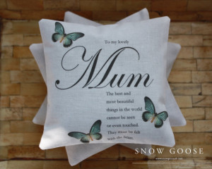... , Lavender Bag, Love, Sentimental Quote, Butterflies, Special Gift