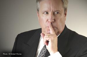 Deceitful Person Deceitful businessman