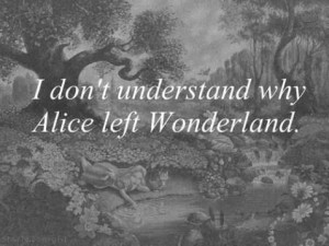 Why leave a place so magical ?