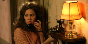 Jennifer Jason Leigh in The Hateful Eight di Tarantino