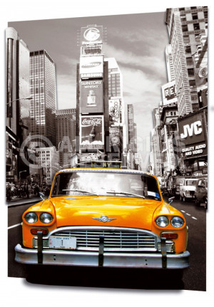 Yellow Cab Poster Ptta