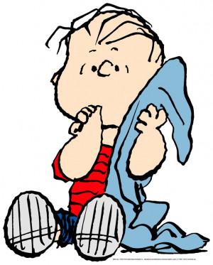 linus cartoon peanuts