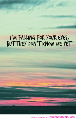 Falling For Your Eyes