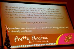 Quote by Xerox CEO Ursula Burns
