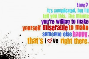 Its Complicated Quotes Love? it's complicated, but