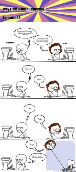 Gamer Boyfriend hahahahahahahaha