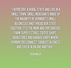Small Town Living Quotes