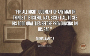 Judgement Quotes