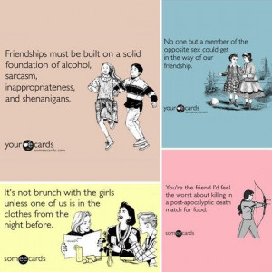 Funny friendship quotes to make you laugh (26)
