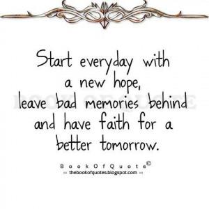 better tomorrow