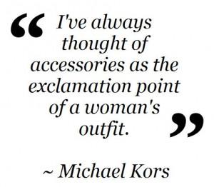 Fashion Quote ~ Michael Kors Shop Chroma Boutique on Facebook ...