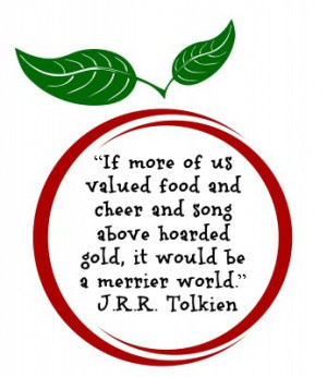 Food Quote by J.R.R. Tolkien