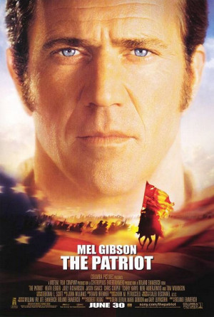 Watch out men, it's Mel Gibson 's giant face !