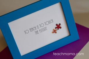 Teacher Appreciation Gift – Framed Quotes