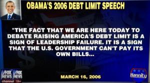 Obama 2006 Debt Ceiling