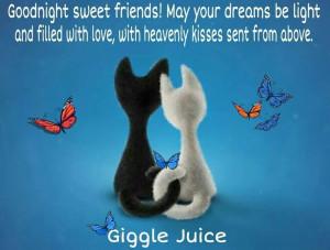 Goodnight sweet friends!!!