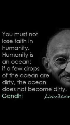 This quote makes me hopeful as I worry about our world which my ...