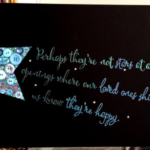 shooting star quote 12 x24 $ 499 00 each shooting star is 100 % ...