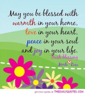 ... Proverbs , Irish Sayings About Family , Irish Sayings About Love