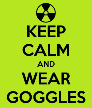 Science Safety Poster: Keep Calm and Wear Googles - (Make YOUR own ...