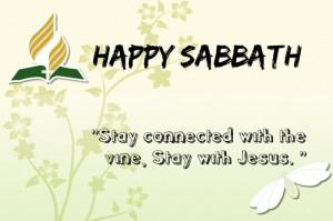 happy happy sabbath day to all my sda friends