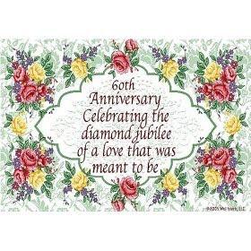 60th wedding anniversary poems