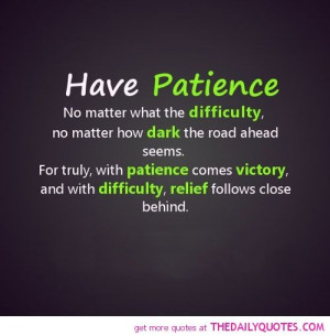 Famous Patience Quotes | ... quotes sayings poems poetry pic picture ...