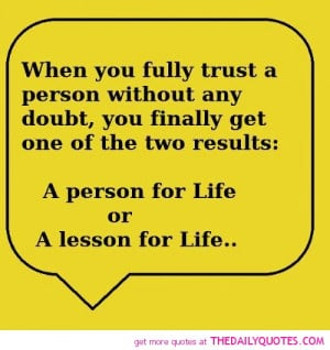 famous quotes on trust