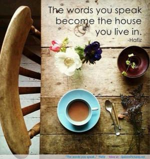 "speak…"" -Hafiz motivational inspirational love life quotes sayings ..."
