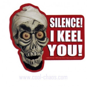 Jeff Dunham Puppet Collectible