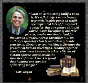 carl sagan book quote