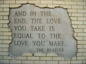 The Love We Take, The Love We Make