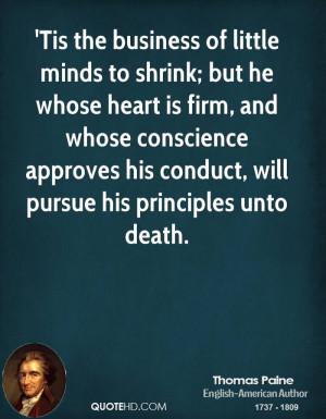 Thomas Paine Politics Quotes