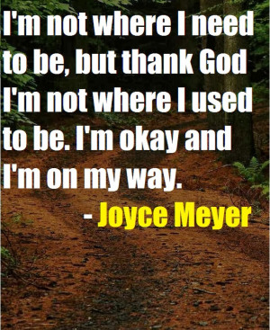 Posted by Joyce Meyer Quotes at 19:49