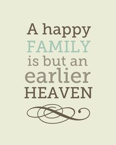 love this so much. A Happy Family is an Earlier Heaven 8x10 art ...