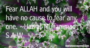 Favorite Hazrat Muhammad SAW Quotes