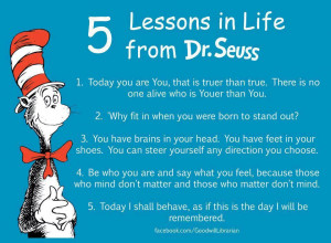 Dr. Seuss 5 Lessons From Life