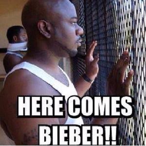 Justin Bieber prison humor