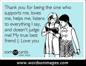 thank you best friend quotes