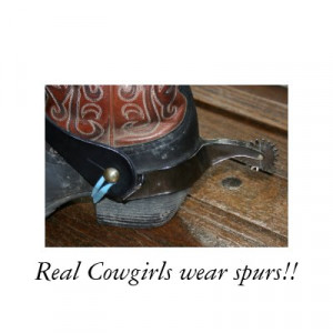real cowgirl quotes