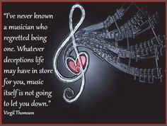 Quotes for musicians! A selection of 25 beautiful and inspiring quotes ...