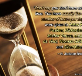 Tag Archives : time management quotes
