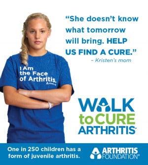 Arthritis Affects 1 in 250 Children
