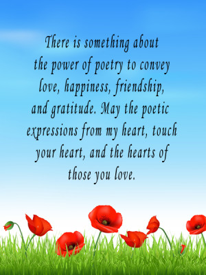 sympathy poems inspirational