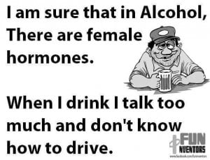 Anyways, here is Another Funny Quote on Drinking and driving - LOL !