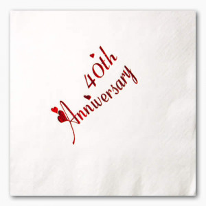 Happy 40th Anniversary to the Cudmores! Party Sat. Night at Darrach ...