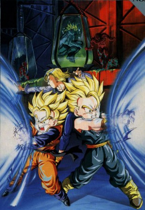 Poster featuring the Bio-Broly movie