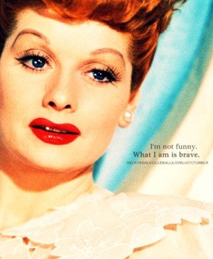 about her no what i love about lucy was her
